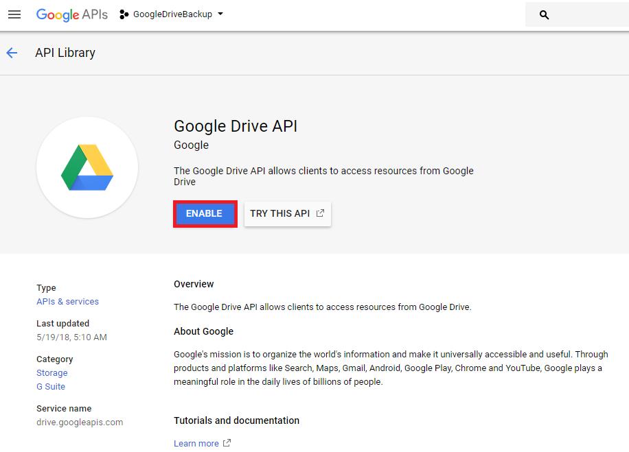 Google Drive — JetBackup Documentation documentation